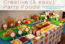 Party Themes-Food / by CeeJaay Kümm