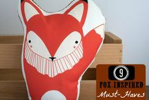 foxes / by Deborah Taylor-Mayfield
