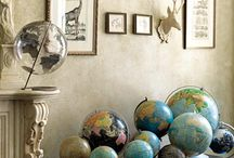 Globes / by Amy -