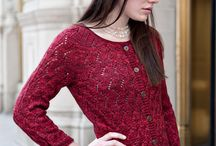 Lace Cardigans / A collection of lace cardigan styles from Studio Chic Knits / by Bonne Marie Burns