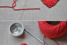 knitting/crochet / by Theresa Koeneke