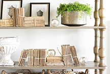BOOKCASE DRESSING CONCEPT / by Chandos Interiors