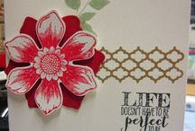 Stampin Up Floral Cards 9 / by Connie Finley