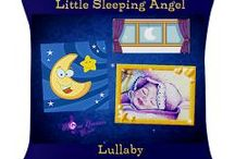 Little Sleeping Angel Collection / Gifts with our Little Sleeping Angel Design, named after our lullaby / by MoonDreams Music Recording Group, LLC