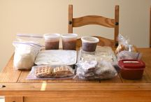 meals to freeze for new moms / by Evan Thrasher