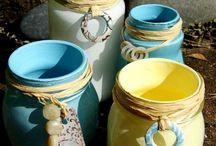 Bottles Jars and Tin cans / by Deedra Sherron