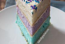 Naked/Buttercream/Ganache Cake / by Nicola Manship
