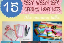 Washi Tape Crafts / Crafts for kids that use washi tape.  / by I Heart Crafty Things