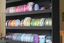 Ribbon storage / by Debby Blundell Johnson