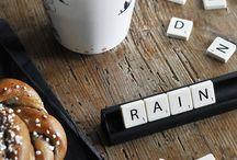 Rainy days / by Bethan Morris