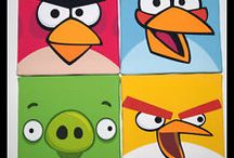 Andrew's Angry Birds Bedroom / by Christine Crawford Smith