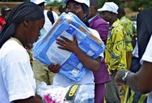 Malaria Initiatives / Distributing nets / by BUZZKILL Foundation