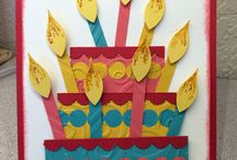 MY STAMPIN UP BIRTHDAY CARDS / MY STAMPIN UP BIRTHDAY CARDS!  / by Barbara Charles