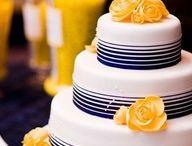 Dream Wedding! / All navy and yellow! / by Amanda Walke