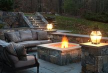 Fire pit / by Janet Beatty