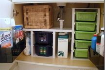 Small Space Storage / by Leslie Merical