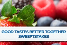 Good Tastes Better Together Sweepstakes / by Anne Walthall Lehnick
