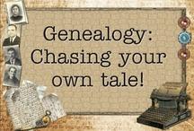 geneology / by Carolyn Maynard