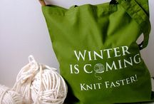 Project Bags / by Knitting in the Red Yarn Shop