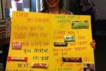 teacher gifts / by Shelby Miller