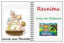 """Receitas - O Vale do Ribeira - Cookery recipes / Estarei postando as fotos das Receitas e o link da Receita lá no Site """"O Vale do Ribeira"""" http://www.ovaledoribeira.com.br/  / by Camilo Aparecido"""