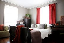 Living room ideas / by Andrea Spencer