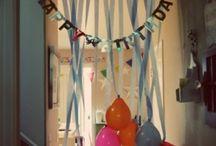 birthdays / by Linda Whaley