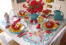 table setting / by Naomi Muramoto