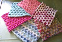 Knit-washcloths / by Patti Brown