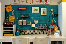 Home - Craft Area / by Carrie Callahan
