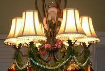 xmas chandelier / by Janet Germiller