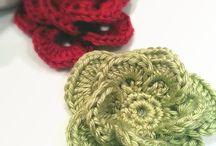 crochet flowers / by Cathy Dehart