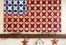 QUILTS FLAG / by Tammy Vonderschmitt