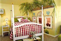 bedrooms / by Anne Bradley