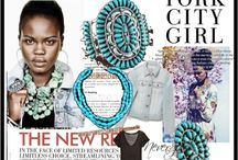 Turquoise Jewelry Fashion Styles / by Turquoise Styles