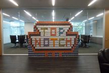 CANville / Local companies in Austin raise money and food for the Capital Area Food Bank by recreating Austin landmark entirely out of cans in one week using a minimum of 1,000 cans. In 2014 the contest provided more than 54,000 meals for Central Texans in need. / by Capital Area Food Bank of Texas
