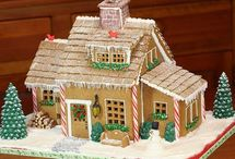Gingerbread Houses / by Alison Zunklei