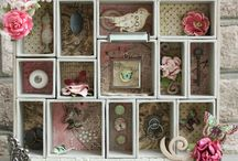 Shadow boxes / by Linda Carr