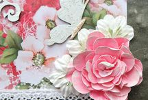 Flowers / Tutorials for making paper and fabric flowers / by Rhonda Sadler