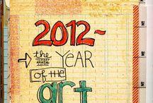 Art Journal Ideas / ART JOURNAL INSPIRATION / by Meredith Sever