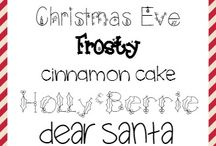 Fonts / by Laura Spade