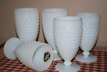 White Milk Glass to USE right NOW! / by Debbie Cummings