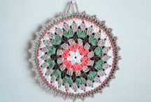 Crochet pot holders / by Grandma's Pearl