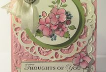 Punched & Die Cut Cards / by Judy Duncan