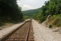 Trains and Tracks / by Judy Van Hoff