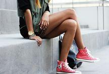 Sneakers/Slippers/Sandals/Stockings/Shoes... / by Kat Skalska