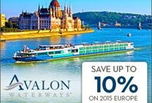 River Cruises / I would describe a river cruise as combining an escorted tour  with an ocean cruise.  The difference being a river cruise means the end to extra costs and unexpected fees. With a river cruise, your entire experience from ship to shore is included. http://www.crownjeweljourneys.com/river-cruise.html / by TRAVEL 2 UNRAVEL
