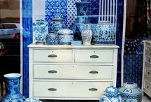 All things blue and white / by Fi Bluebellgray