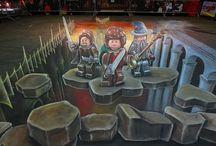 Lego Street Art / by Hot Legos