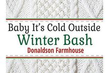 Hot Cocoa Bar - Sweater Weather Party / Baby it's cold outside!  Warm up your party guests with a Hot Cocoa Bar. / by Shindigz
